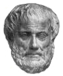 Aristotle, educated at Plato's academy